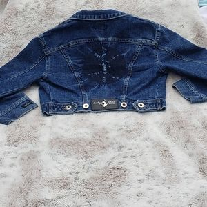 ❤💙2002 Baby Phat Distressed Pinch Dyed Jacket💙❤
